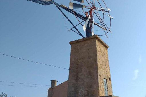 Origen de los molinos de Mallorca