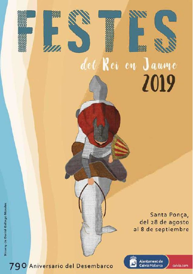La conquista de Mallorca - fiestas en Santa Ponsa