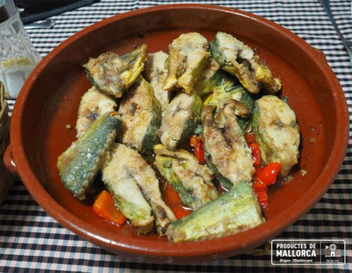 Recipe of llampuga with peppers