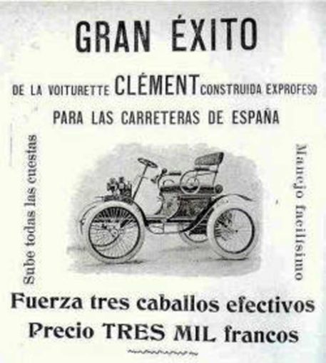 First car registered in Spain