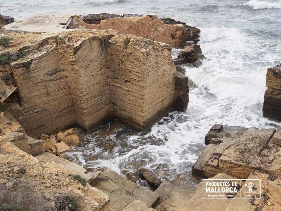 Construcción con marés