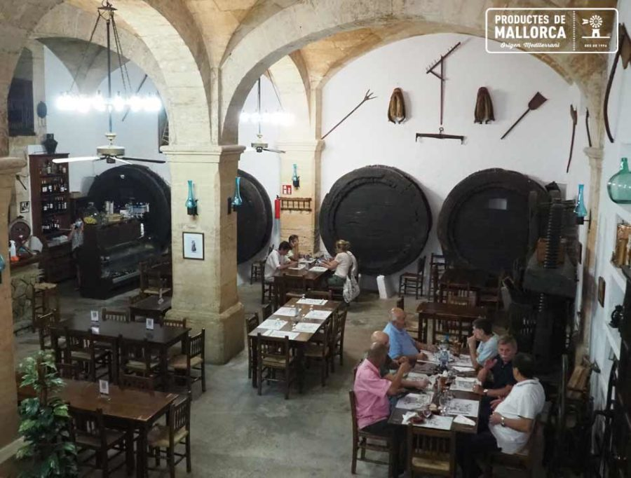 The Mallorcan celler